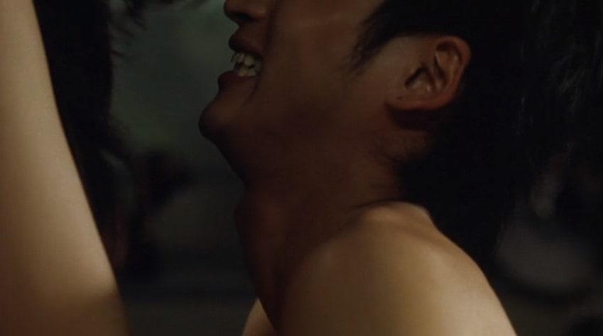黄川田将也と正常位でセックスする黒谷友香