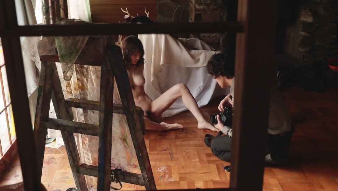 安藤政信にマンコを撮影される永夏子