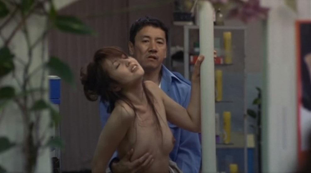 濱田のり子と奥田瑛二の濡れ場シーン