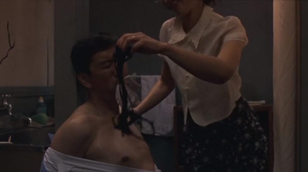 夏木マリと奥田瑛二の濡れ場シーン
